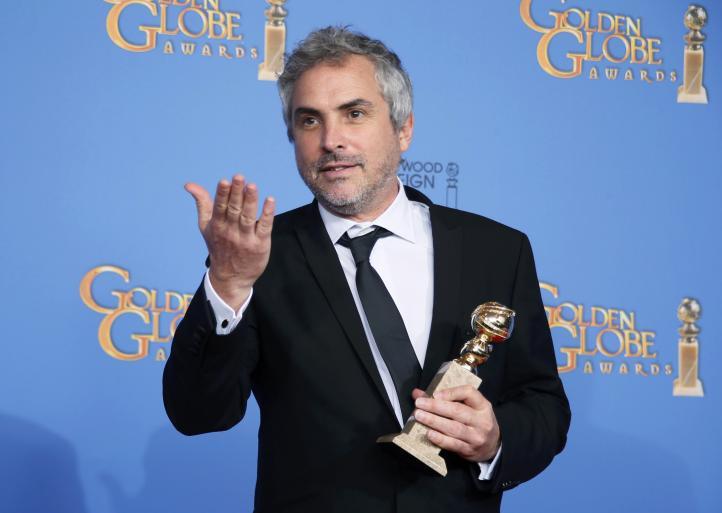 Cuarón gana el Globo de Oro a mejor director por 'Gravity'