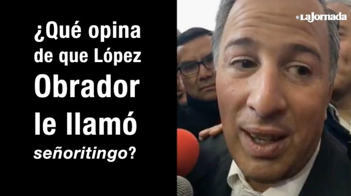 Ni arrogante ni acomodado, responde Meade a López Obrador