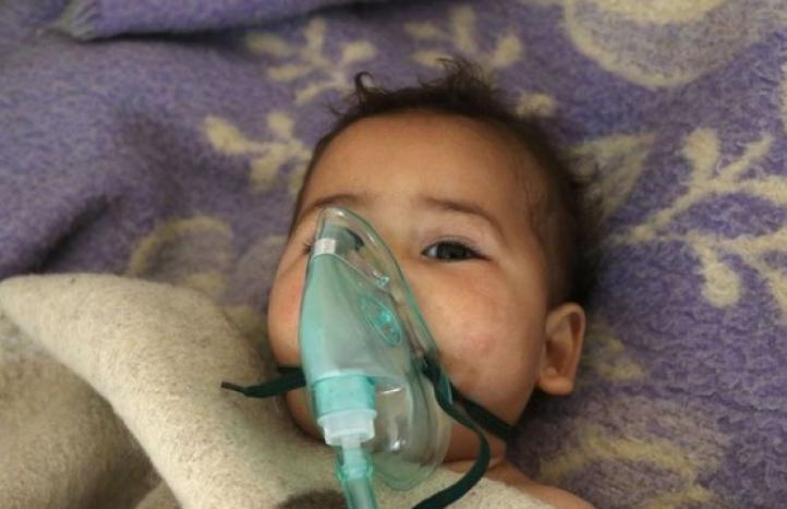 Denuncian supuesto ataque químico en Siria