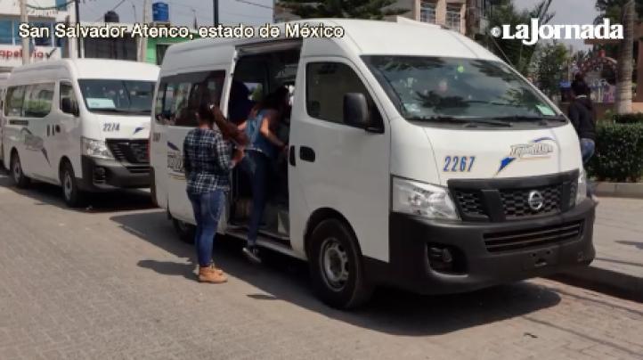 Reportan 'acarreados' en Atenco para votar a favor del NAICM
