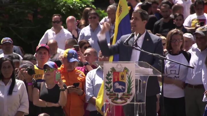 El grupo de contacto internacional condena la inhabilitación de Guaidó