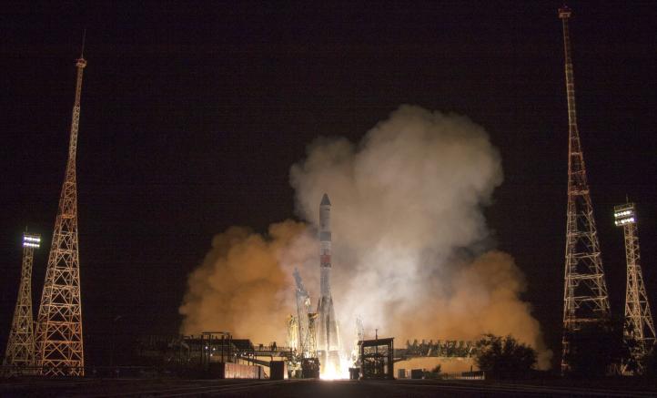 Nave espacial rusa entrega provisiones en tiempo récord