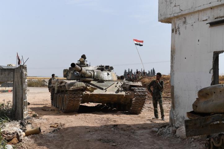 Ejército sirio se enfrenta a rebeldes en el norte