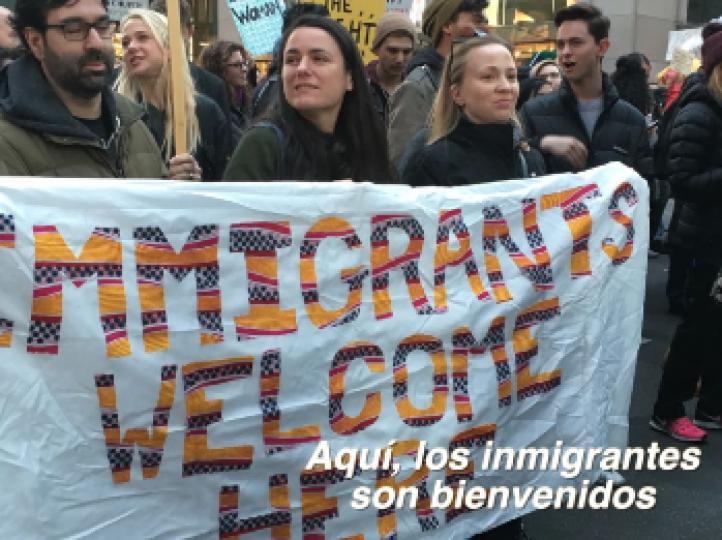 Cuarto día de protestas contra Trump en EU