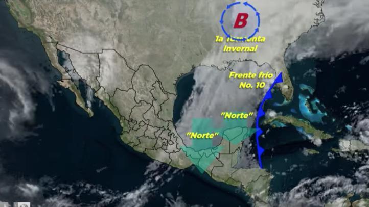 Pronóstico del tiempo para el 15 de noviembre de 2018