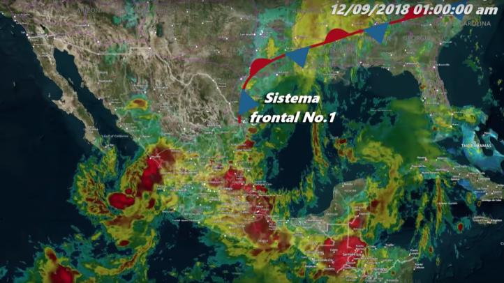 Pronóstico del tiempo para el 12 de septiembre de 2018