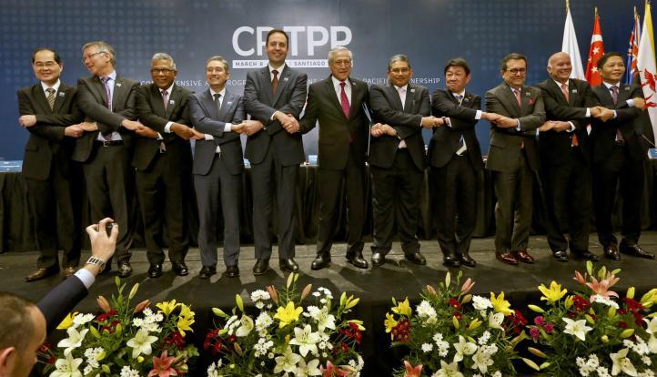 Sin EU, 11 países firman El CPTPP