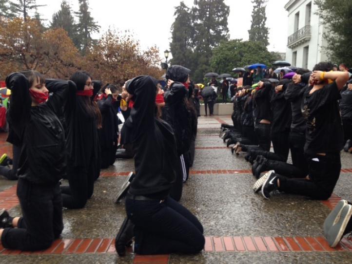 Protestas por Ayotzinapa, en México, Estados Unidos y Francia, el 20 de noviembre