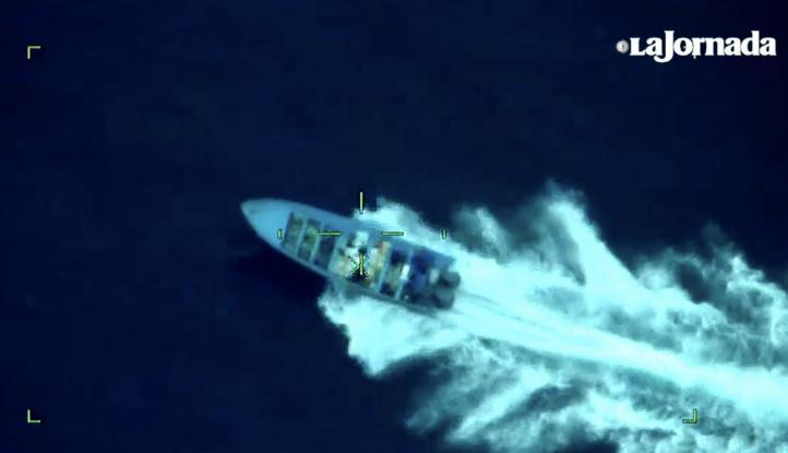 Aseguran una tonelada de cocaína en las costas de Chiapas