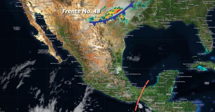 Pronóstico del tiempo para el 4 de mayo