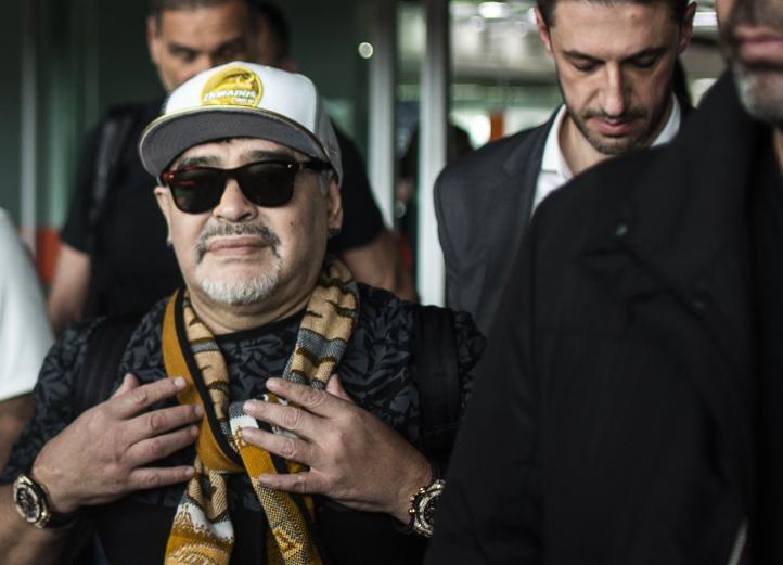 Maradona dirigirá a club en cuna del narco en México