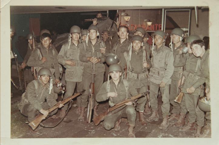 Moisés fue soldado en 1968, el 2 de octubre estuvo en Tlatelolco