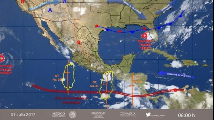 Pronóstico del tiempo para el 31 de julio