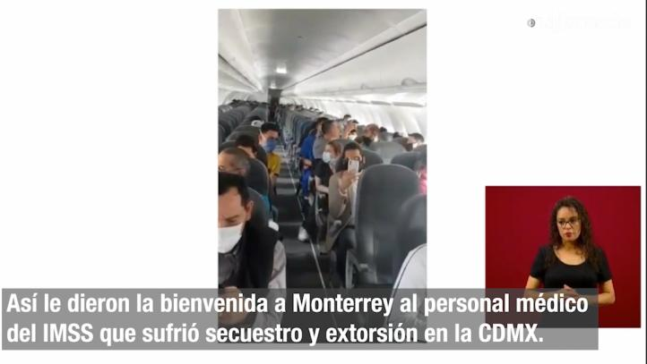 Aplauden a personal médico que sufrió secuestro y extorsión en la CDMX