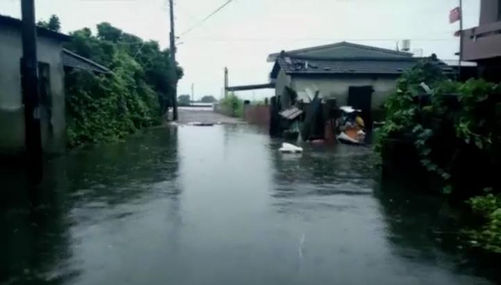 Más de un centenar de heridos por tifón en Taiwán