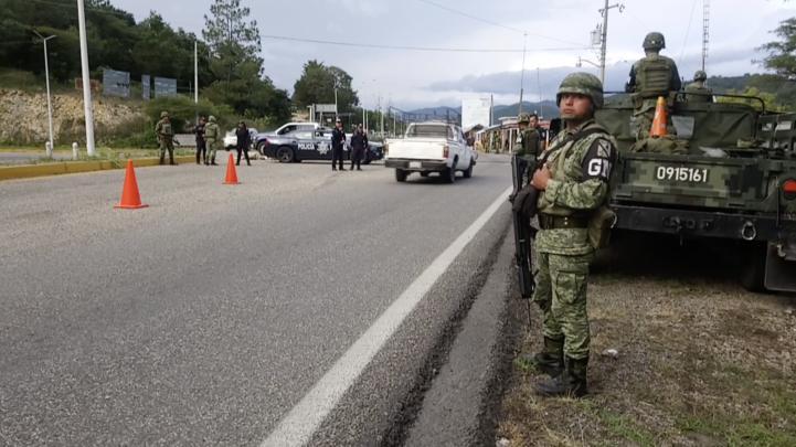 Despliegan elementos de la Guardia Nacional en Chiapas