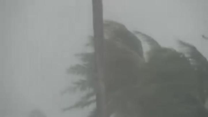 Tormenta en Hawai causa nevada
