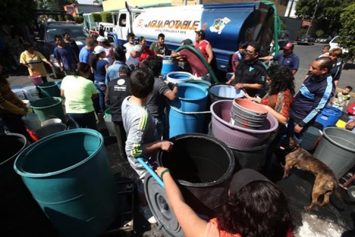 Reinicia abastecimiento de agua en Ciudad de México