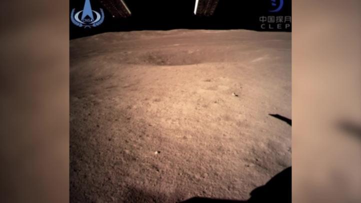 Sonda china llega al lado oscuro de la Luna