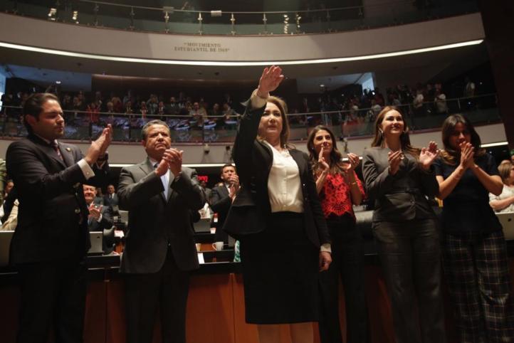 Designan a Yasmín Esquivel Mossa como ministra de la Corte