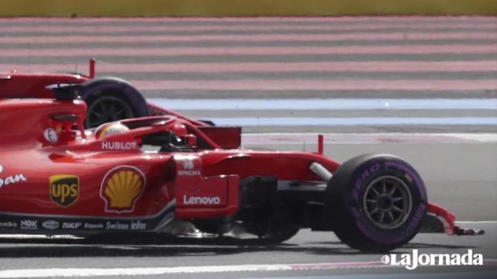 Mesa de análisis del Gran Premio de Francia