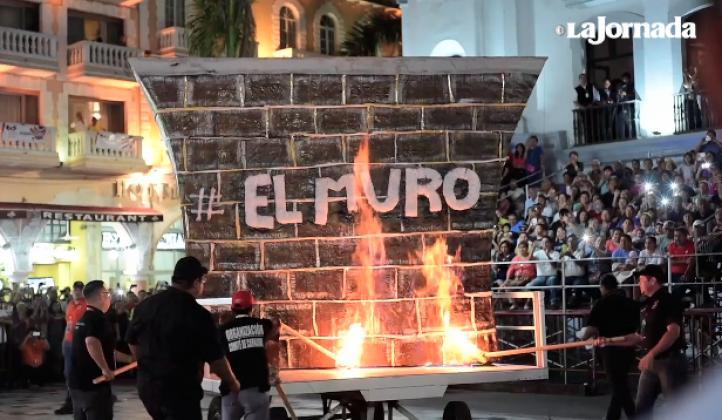 Veracruz hace de su carnaval una fiesta contra Trump