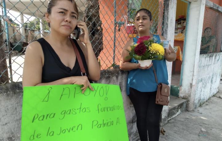 Piden ayuda para gastos funerarios por feminicidio en Veracruz