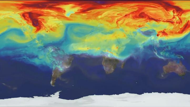 Niveles de CO2 atmosférico sin precedentes en 61 años de registro