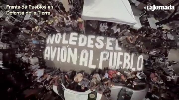 AMLO aún no se reúne con los pueblos afectados por el NAICM