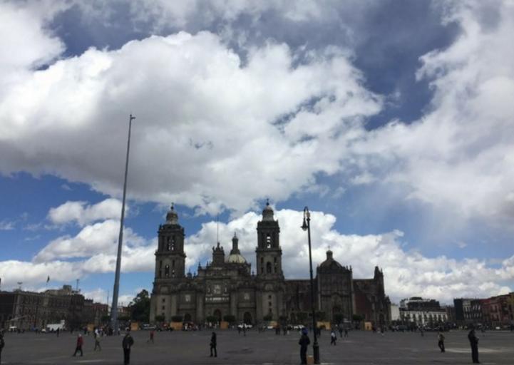 Día atípico en el valle de México