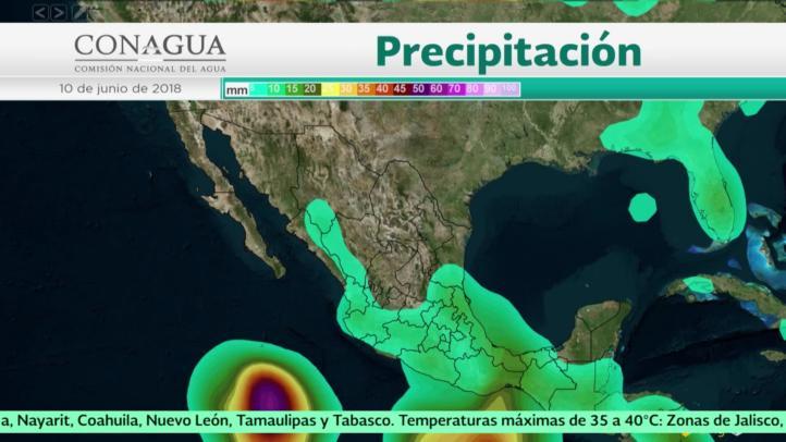 Pronóstico del tiempo para el 9 y 10 de junio
