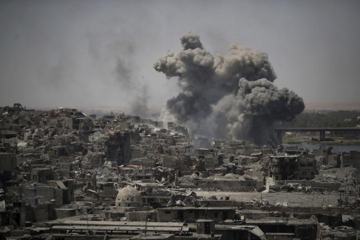 Continúan  combates esporádicos en Mosul