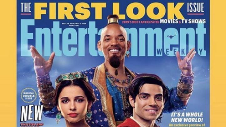 Primeras imágenes de Will Smith como el Genio de 'Aladdin'