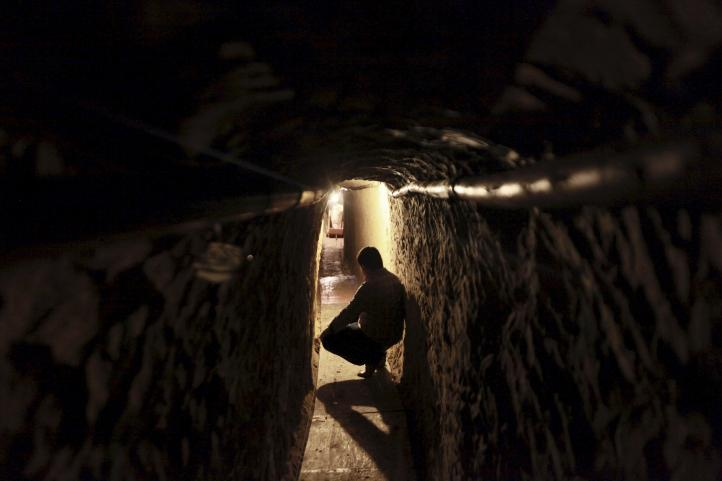 Hallan en Tijuana túnel para traslado de droga hacia EU