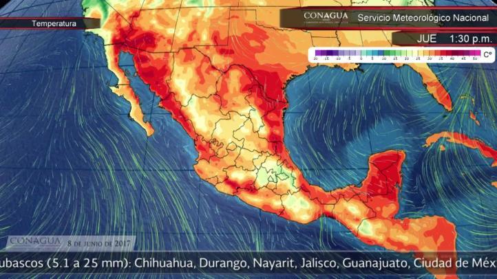 Pronóstico del tiempo para el 8 de junio