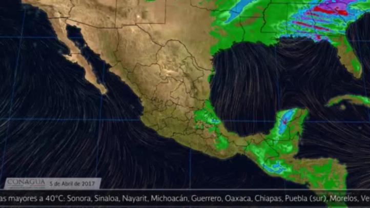 Pronóstico del tiempo para el 5 de abril