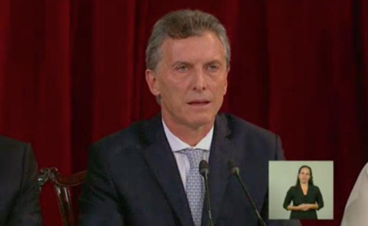 Asume el poder Mauricio Marci en Argentina