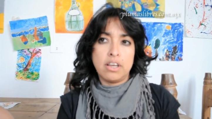 Nadia Vera habla sobre la represión policiaca el 20 de noviembre de 2012