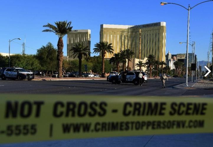 Tiroteo en Las Vegas, al menos 58 muertos