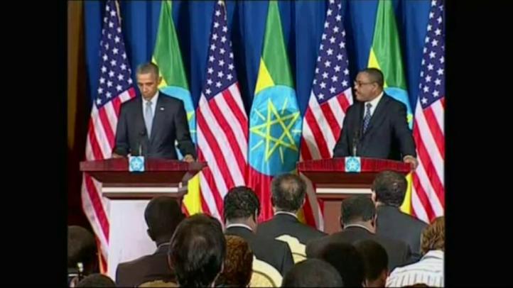 Obama exhorta a líderes de Etiopía a ampliar apertura política