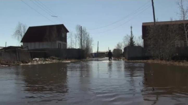 Inundaciones en Rusia causadas por deshielo