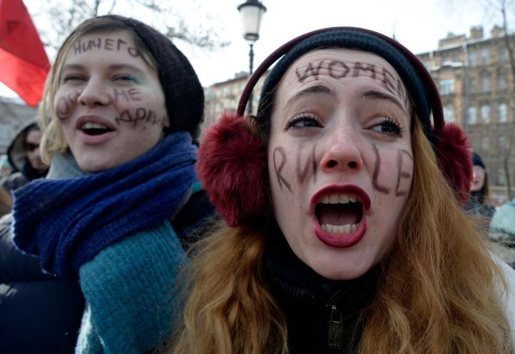 Marchas por el Día Internacional de la Mujer