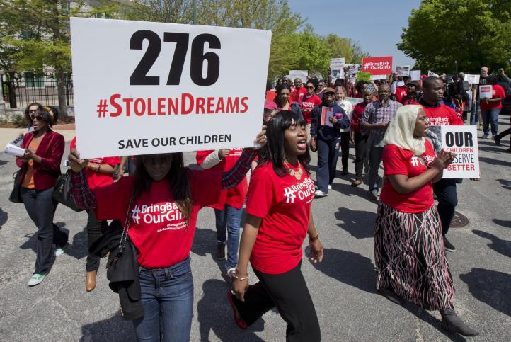 Exigen al gobierno de Nigeria rescate a las 276 jóvenes secuestradas