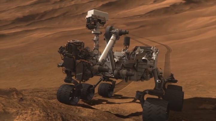 El 'Curiosity' supera los 20 km de recorrido en Marte