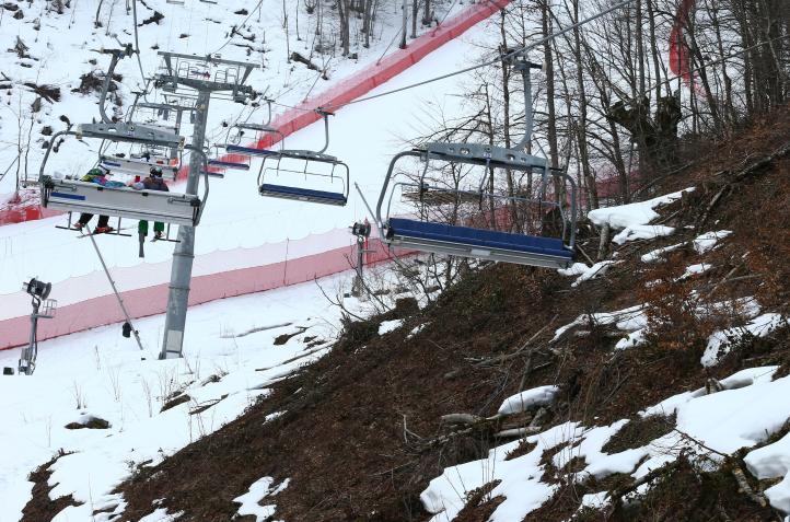 Aumento de temperatura en Sochi amenaza con derretir  Juegos Olímpicos