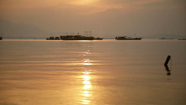 Imponen veda en lago más grande de China