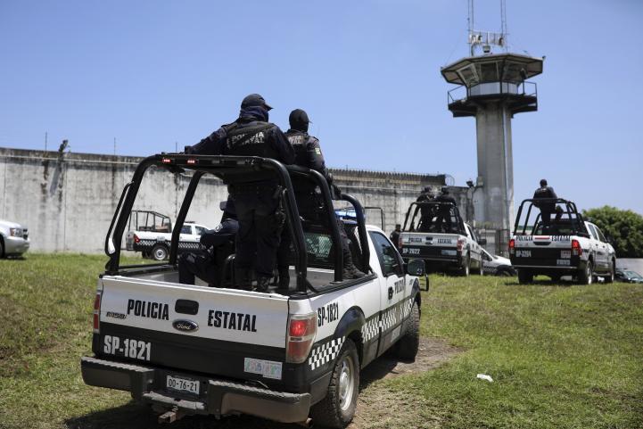 Siete muertos en motín carcelario en Veracruz