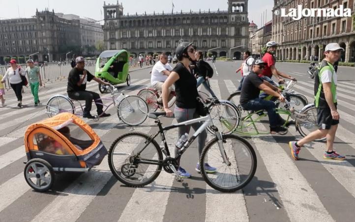 Los viajes en bicicleta nos benefician a todos: Muller