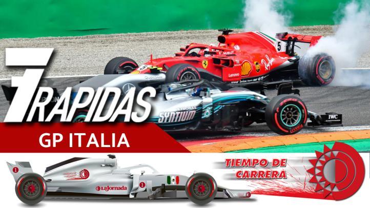 7 Rápidas del Gran Premio de Italia