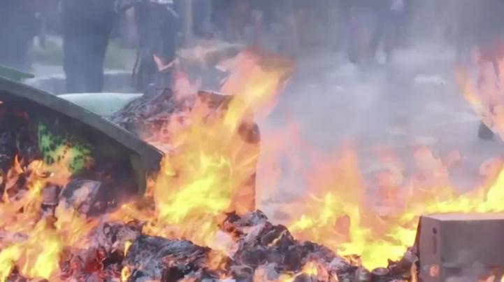 Miles de chilenos protestan por la muerte de joven mapuche